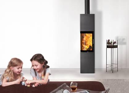 austroflamm kaminofen slim 2 0 brunmayr grogger. Black Bedroom Furniture Sets. Home Design Ideas