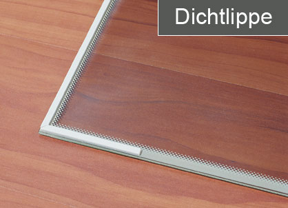 Extrem RIKA Glasbodenplatte 100 x 100 cm mit Dichtung, Brunmayr & Grogger AY97