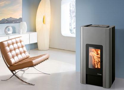 haas sohn pelletofen hsp 6 pelletto iii rlu pgi. Black Bedroom Furniture Sets. Home Design Ideas