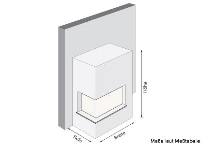 inplafeo warmluft kachelofen designkamin eck67 45. Black Bedroom Furniture Sets. Home Design Ideas