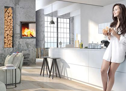 inplafeo warmluft kachelofen designkamin eck45 45 brunmayr grogger online shop fen. Black Bedroom Furniture Sets. Home Design Ideas